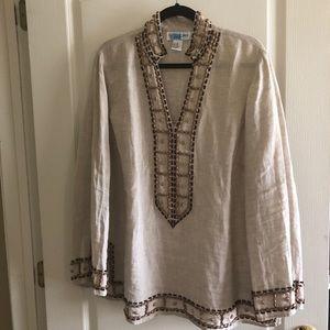 Linen tunic
